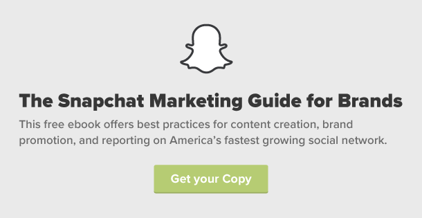 Download The Snapchat Marketing Guide for Brands!