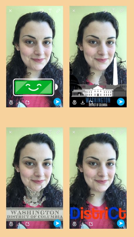 How to use Snapchat: Geofilters