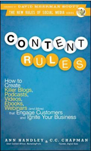 Marketing book -- Content Rules