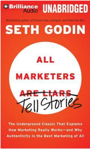 Best marketing books -- All Marketers Are Liars