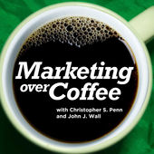 Best Marketing Podcasts -- Marketing Over Coffee