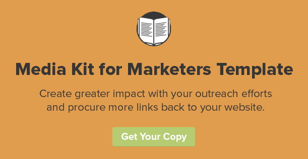 how to guest post -- media kit for marketers