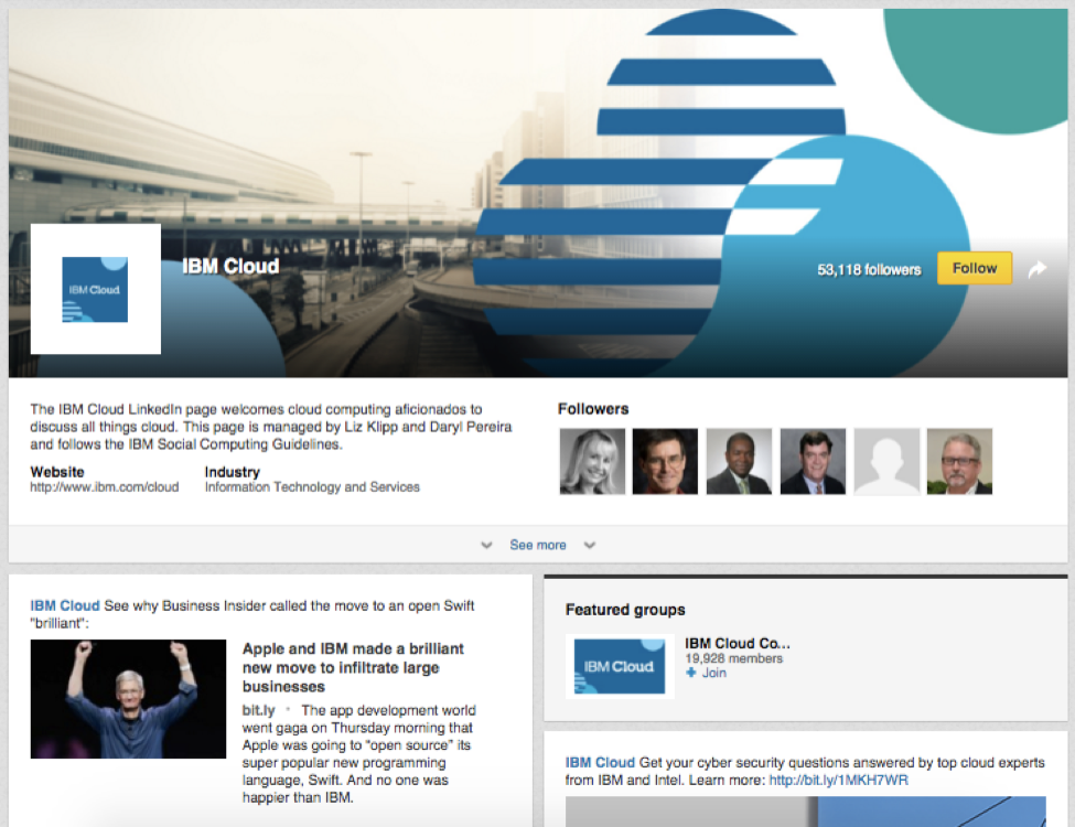 ibm guide to linkedin for marketers