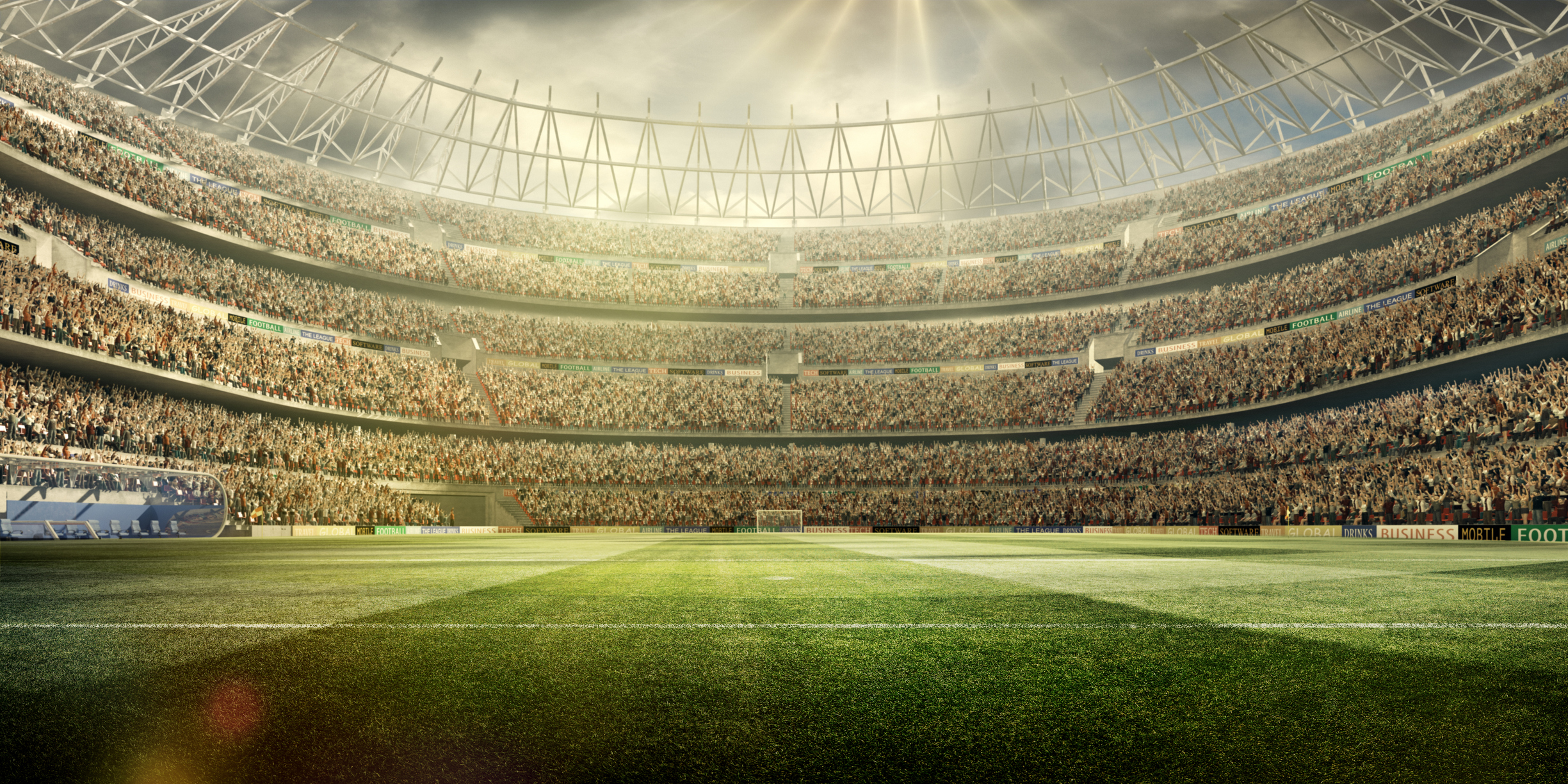Soccer stadium background wide angle - TrackMaven | The ...