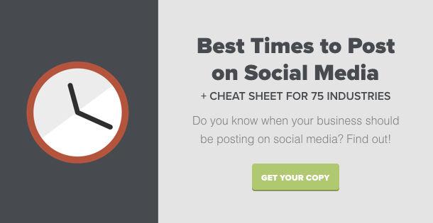 the best times to post cta