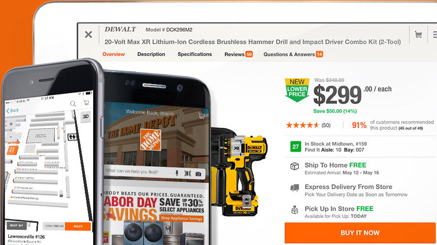 Home Depot's omnichannel marketing strategy