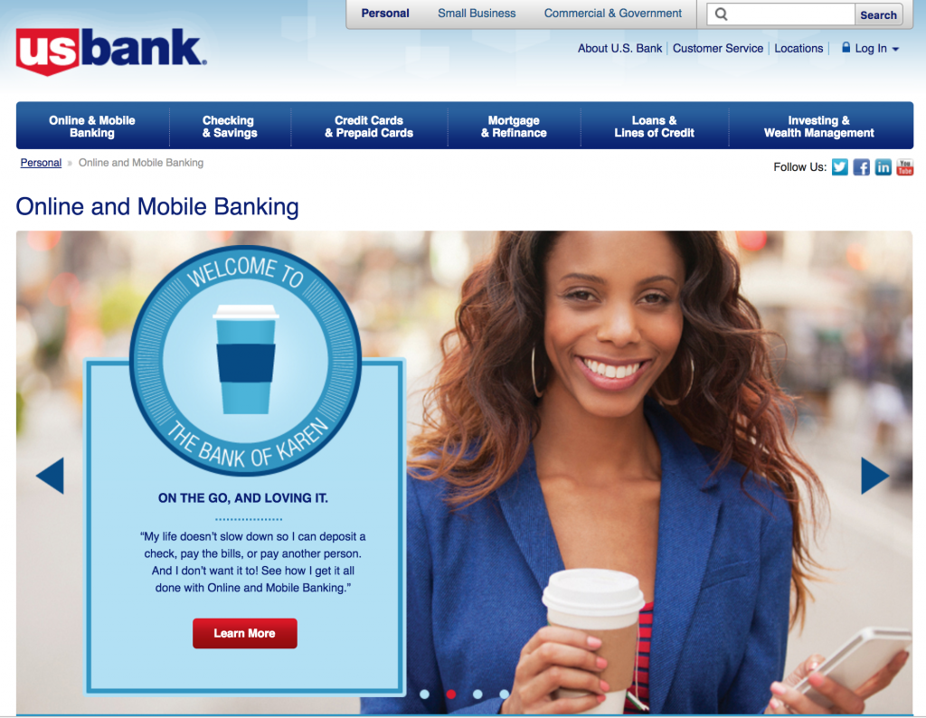U.S. Bank leverages TrackMaven to optimize their marketing channel mix.