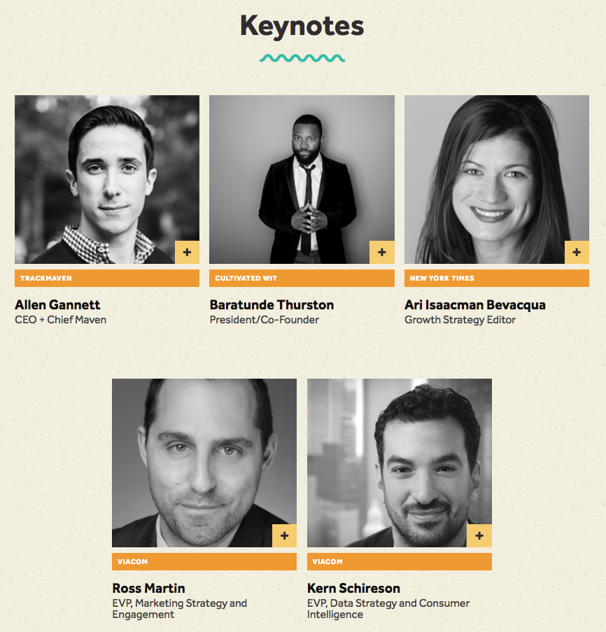 Spark Marketing Summit 2017 Keynote Speakers